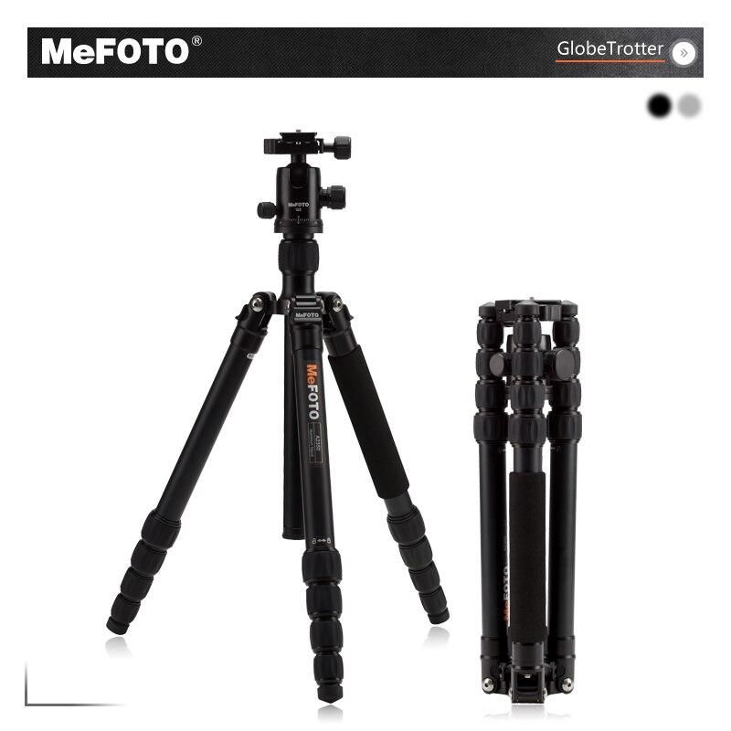 MeFOTO наборы штативов триподов globetrotter A2350Q2 алюминиевый легкий прочный штатив подставка для фотокамеры Штатив Монопод действие Камера аксесс
