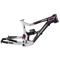 Kinesis Bicycle Frame Original Bike Bicycle Downhill DH FR Frame Size st 420mm Aluminum Alloy 8 inches travel