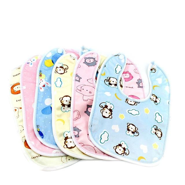 3Pc/lotBaby Bibs Bandana Waterproof 100% cotton High Quality Babadores burp saliva towel cartoon Boys Girls accessories clothing
