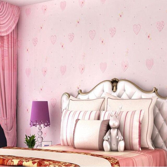 Belle Rose Coeur 3d Murale Photo Non Tisse Rouleau De Papier Peint