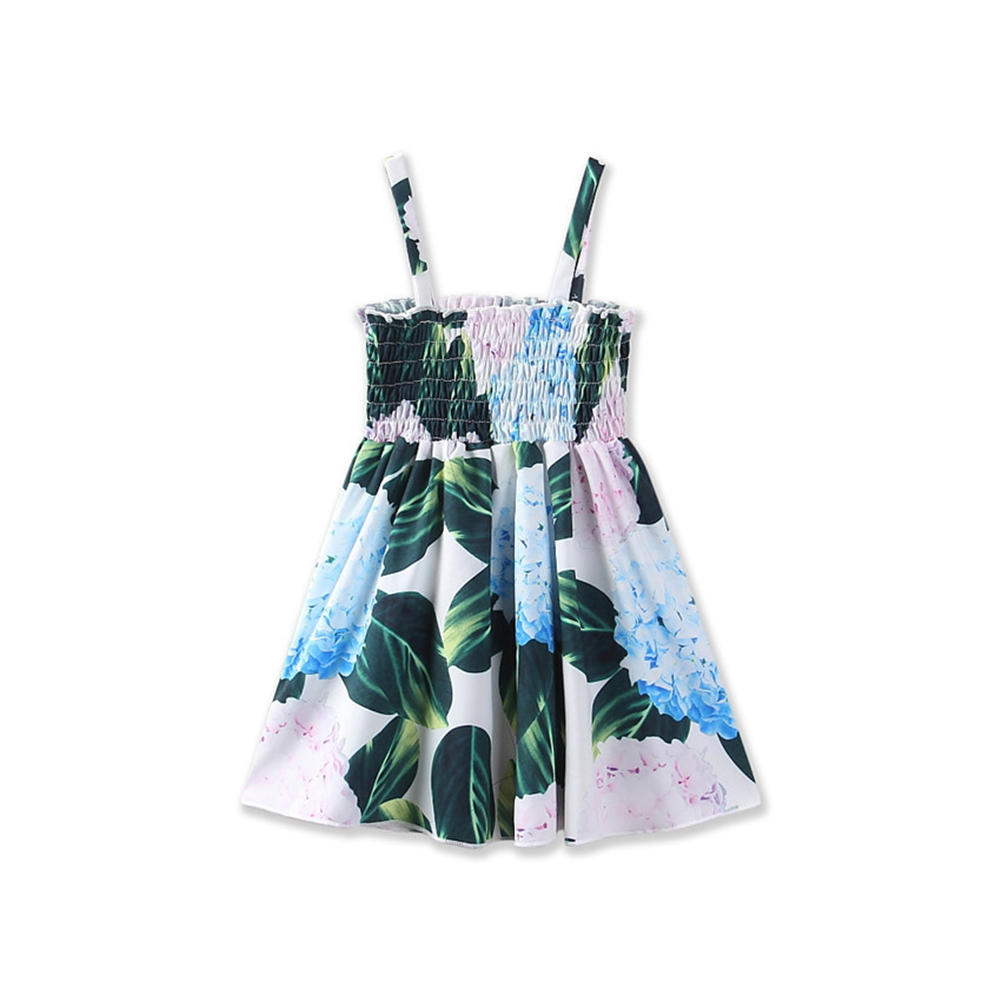 Litei Store Baby Girls Dress 2017 New Popular Sweet Print Toddler Kid Baby Girl Clothes Princess Party Prom Floral Tutu Beach Summer Dress