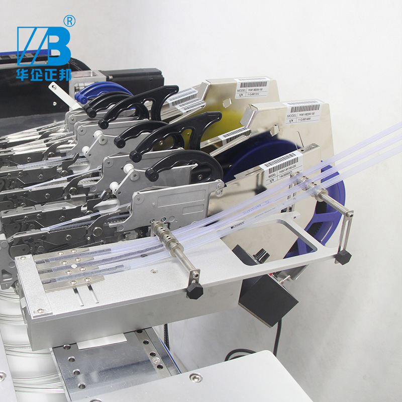 Tools : Manufacturer 220V Electric SMT feedersmt tape vibrate Feedervibration feeder For Pick And Place Machine 5 tubes smt feeder