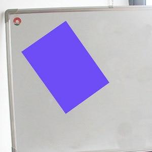 1 шт. 8 цветов резиновый магнит гибкий магнитный лист A4 размер 0,5 мм бумажные магнитные наклейки магнит на холодильник