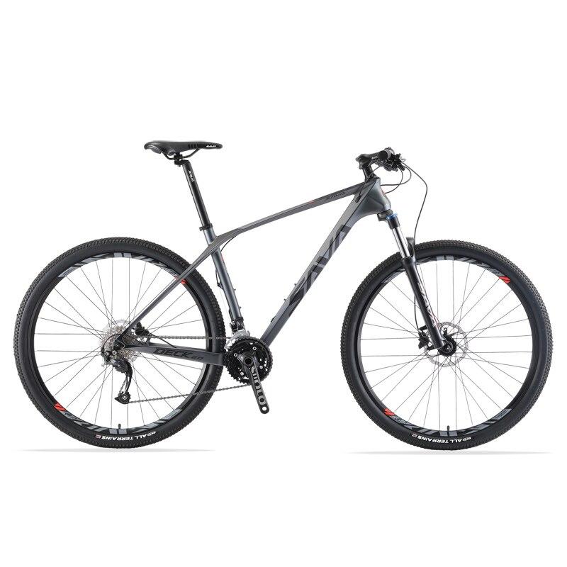 Горный велосипед из углеродного волокна для мужчин и взрослых, 29 дюймов, с рамой из углеродного волокна, для горных велосипедов с группами ...