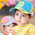 Wings Design Cute Baby Hats Baseball Caps Mesh Gorras Casquette Sun Hats for Children