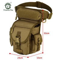 Men S Bags Waterproof Nylon Thigh Leg Left Hip Legs Package Travelling Bag Male Waist Military