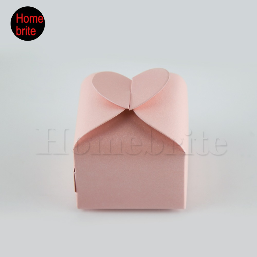 20 Pcs Hot DIY Party wedding Candy Box Love Heart Candy Box Paper ...