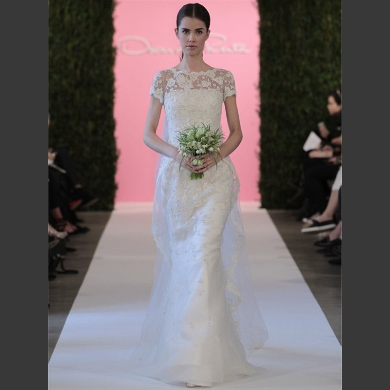2015 Plus Size Vintage Lace Wedding Dress Vestido De Renda
