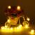 5 m 50 Blanco Caliente Luces de Navidad Garland Funciona Con Pilas LLEVÓ Cadena de Luces de Hadas Guirlande Lumineuse Led Decoraciones de La Boda