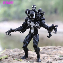 New Arrival 8″18cm Marvel Spider Man Venom PVC Action Figure Toys Model Doll With Box