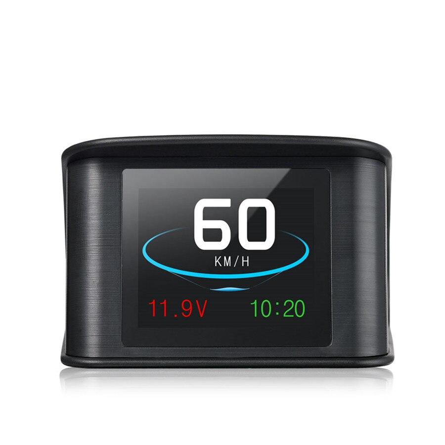 T600 Car On board Computer Car Digital Gps speedometer Driving Computer Display Speedometer Coolant Temperature Gauge