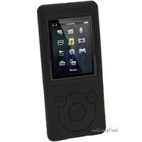Black Silicone Skin Case Cover For Sony Walkman NWZ E473 NWZ E474 NWZ E574 NWZ E575