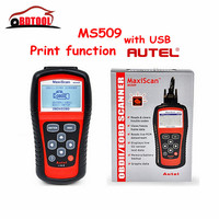 New Arrival MaxiScan MS509 Auto Code Reader MS509 OBDII EOBD CAN MS509 Scanner