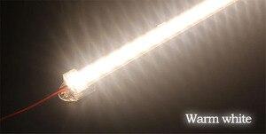 Image 5 - 10 pcs 30cm 5630 5730 DC12V hard rigid bar strip with U aluminum profile shell channel housing cabinet light kitchen light