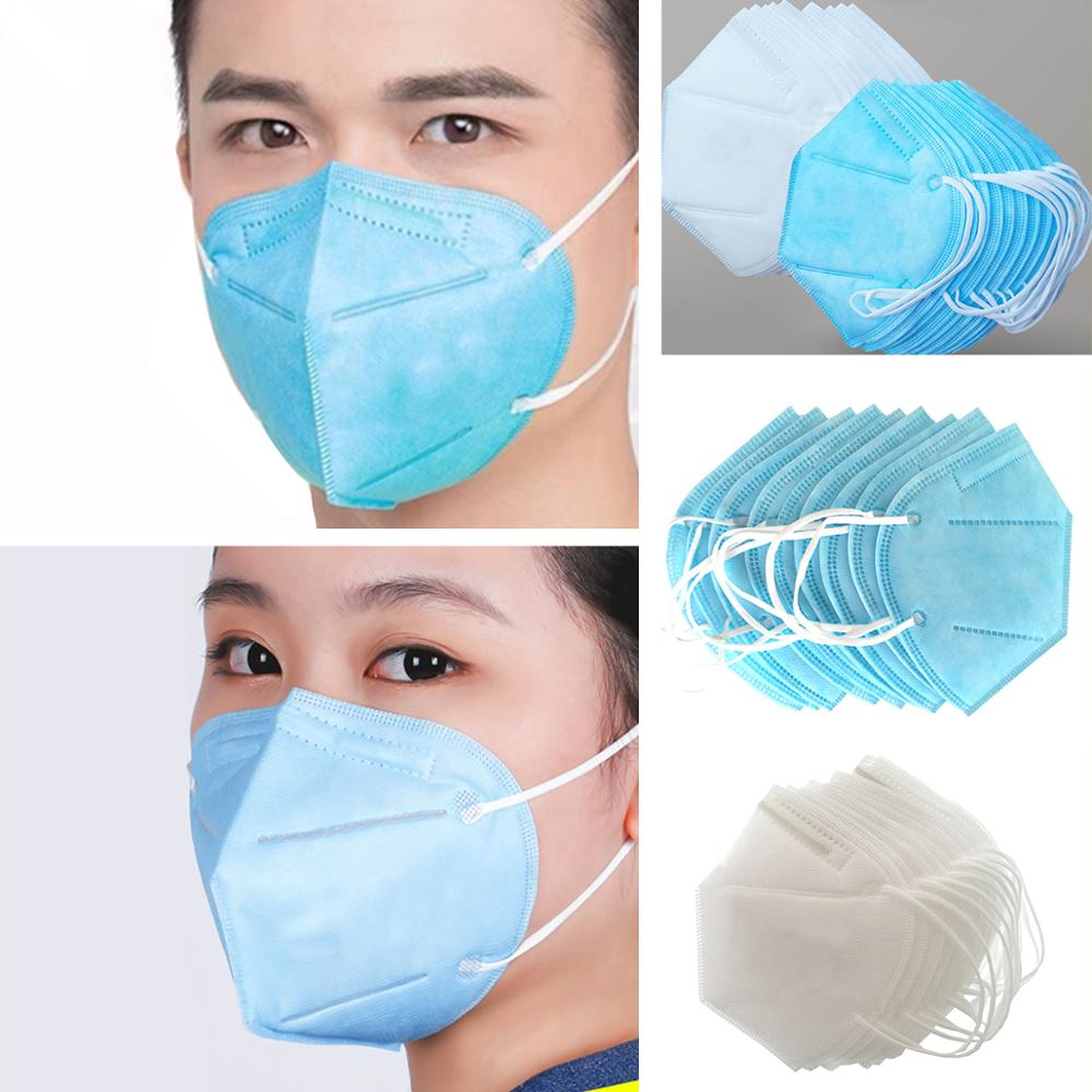 10pcs/set Dust Mask Protective Industrial Dust Pollen Grinding Cement Thick Non-woven Breathable Mask Handling