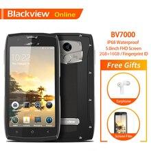 Blackview BV7000 оригинальный 5,0 дюймов IP68 Водонепроницаемый прочный смартфон 2 ГБ + 16 Гб NFC отпечаток пальца ударопрочный с двумя sim-картами 4G, мобильный телефон