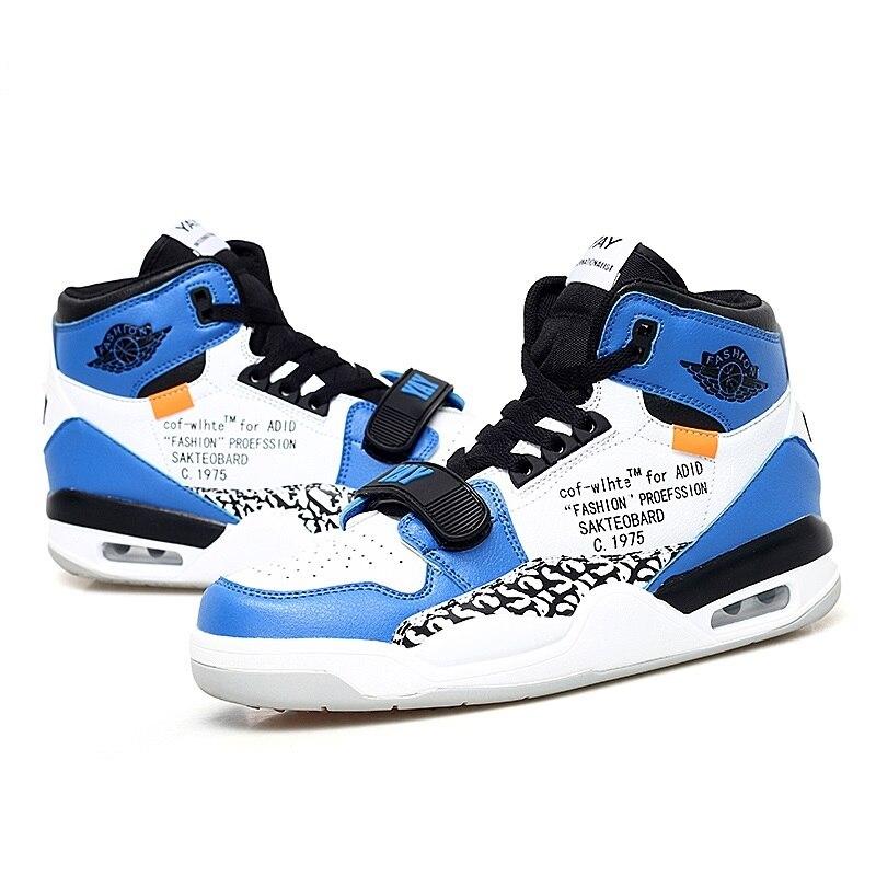 Chaussures De basket-ball hommes antidérapant coussin d'air basket-ball baskets femmes Zapatillas De Baloncesto Jordan 4 chaussures d'extérieur pour hommes enfants 5