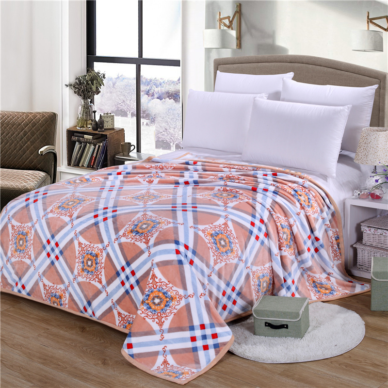 On sale Thick winter Blankets Package edge technology big size bed textile soft blanket for beds plaid Throws blanket on Sofa