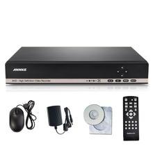 ANNKE CCTV DVR 8CH ONVIF Video Recorder H.264 P2P AHD DVR for AHD-M 960H D1 camera Network Hybrid AHDVR 720P cctv recorder
