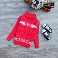 2017 Baby Boys Girls Sweater Children Kids Unisex Winter Autumn Pullovers Knitting Turtleneck Warm Outerwear Sweaters