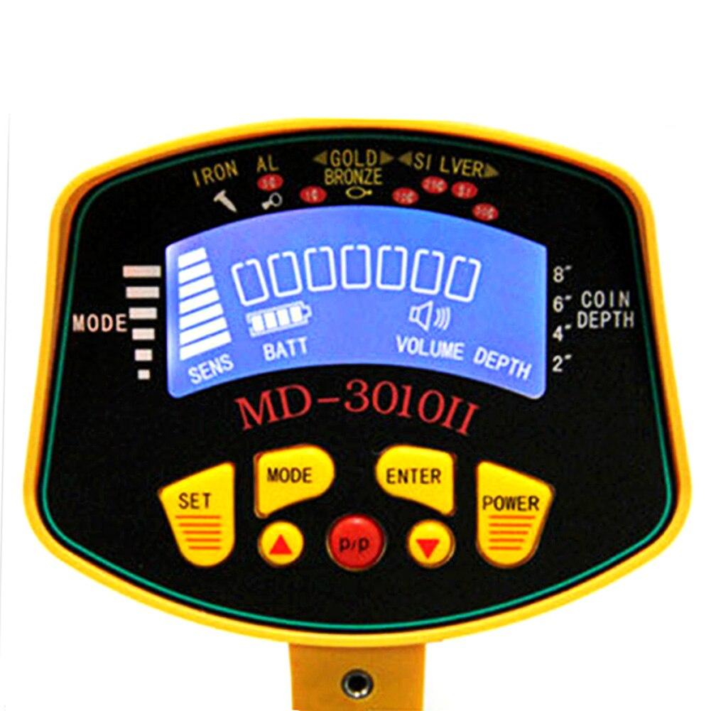 Vízálló fémdetektor LCD képernyő mély célzott tekercsek - Mérőműszerek - Fénykép 5