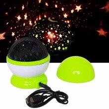 Romantic LED night light modern starry sky table Lamp for bedroom star projector kids children USB baby sleeping novelty light