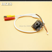 HKES Security CCTV Camera 960P Mini AHD Camera module with BNC Cable and 3.7 mm lens