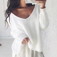 Женский сексуальный вязаный свитер с открытыми плечами, Осень-зима, брендовые черные пуловеры, трикотаж 2019, белый джемпер, Pull Femmel Sweater
