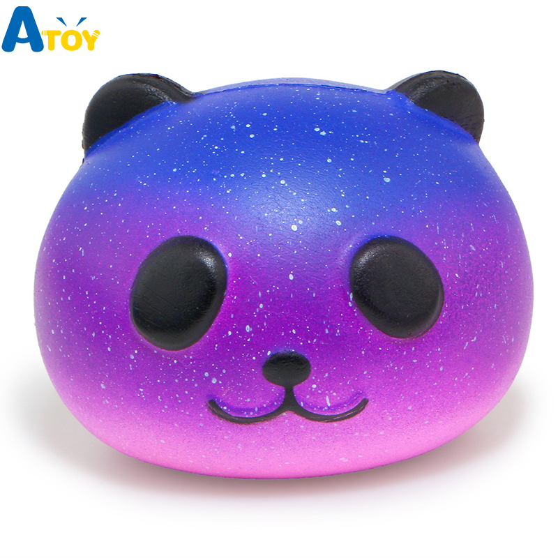 Big Size Squeeze Squishy Toys Galaxy Panda  Scented Slow Rising Squishy Gadgets Anti Stress Relief Toys Children Gift Slime Toys