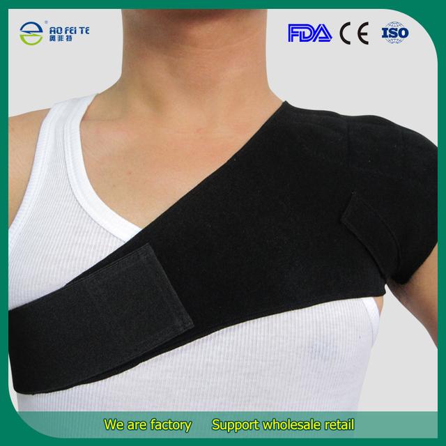 2015 Frete Grátis Auto Aquecimento Turmalina Sports Ombro Único Brace Postura Cinto Corrector Aliviar As Dores Do Ombro