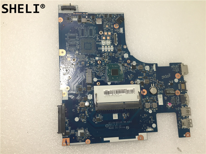 SHELI For Lenovo G40 G40-30 motherboard with N3540 cpu <font><b>NM</b></font>-<font><b>A311</b></font> image