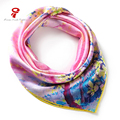 Scarf  100% Silk Satin Square Silk Scarf female neck Scarf Women Shawls bandana Luxury Hair Scarve Brand  Wrap Scarf  hijab