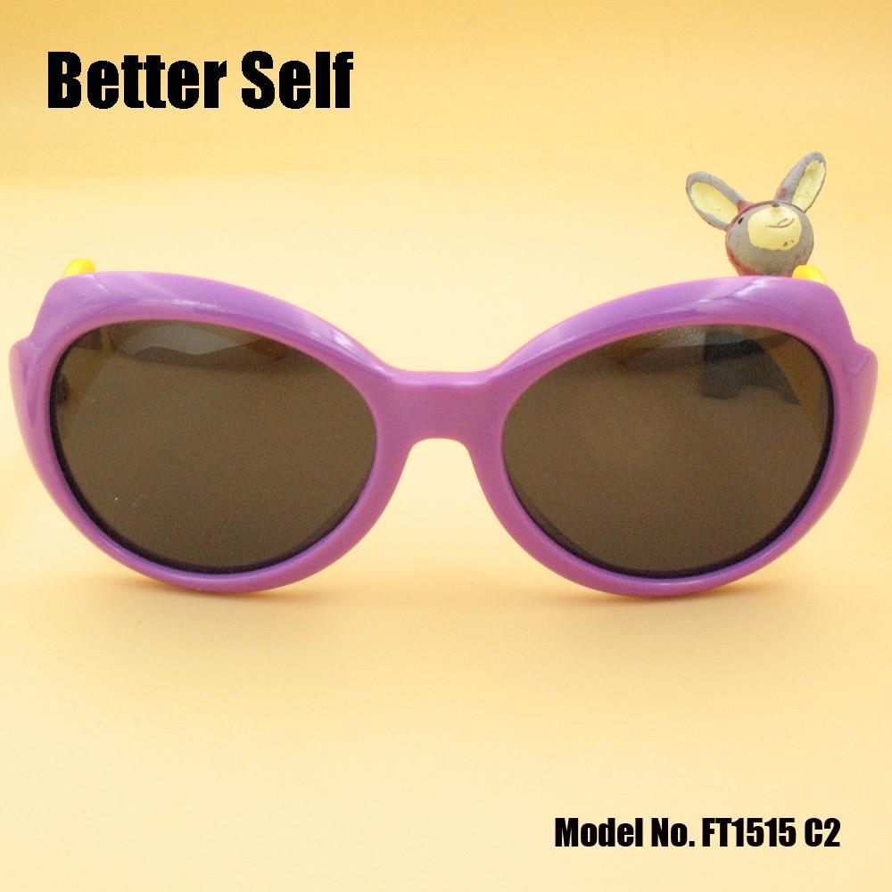 Solbriller til børn Wing Temple Kid Polariserede vintage briller - Beklædningstilbehør - Foto 1