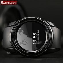 Nueva Q9 pantalla táctil Bluetooth reloj inteligente ronda vida a prueba de agua deportes PK Huawei Android teléfono smartWatch para Apple Q18 Z60