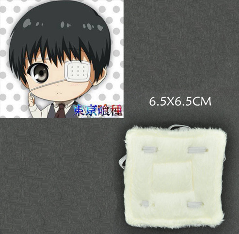 Anime Tokyo Ghoul Kaneki Ken Adjustable Eye Patch Single-Eyed Cosplay Costumes Accessory Prop Halloween For Man and Woman