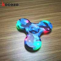 Fashion Lights Hand Spinner Plastic With Bluetooth Fidget Toy For Autism And ADHD Kid Gift Fidget