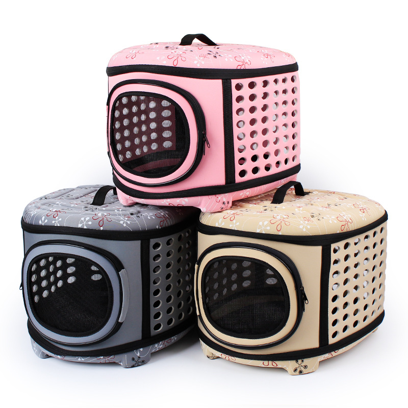 New Pet Breathable Travel Bag Dog Cat Pet Carrier Red and