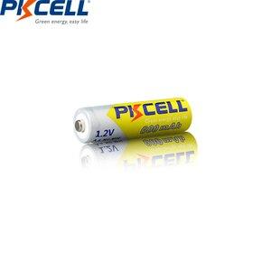 Image 5 - 4PCS PKCELL AA battery 600mah 1.2v NIMH AA rechargeable batteries aa batteria recharge and 1pcs AA battery box for Camera toys