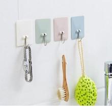 Повышенной клейкости крючки Органайзер настенный самоклеющиеся высокопрочные крючки декорационные крючки для кухни ванной комнаты