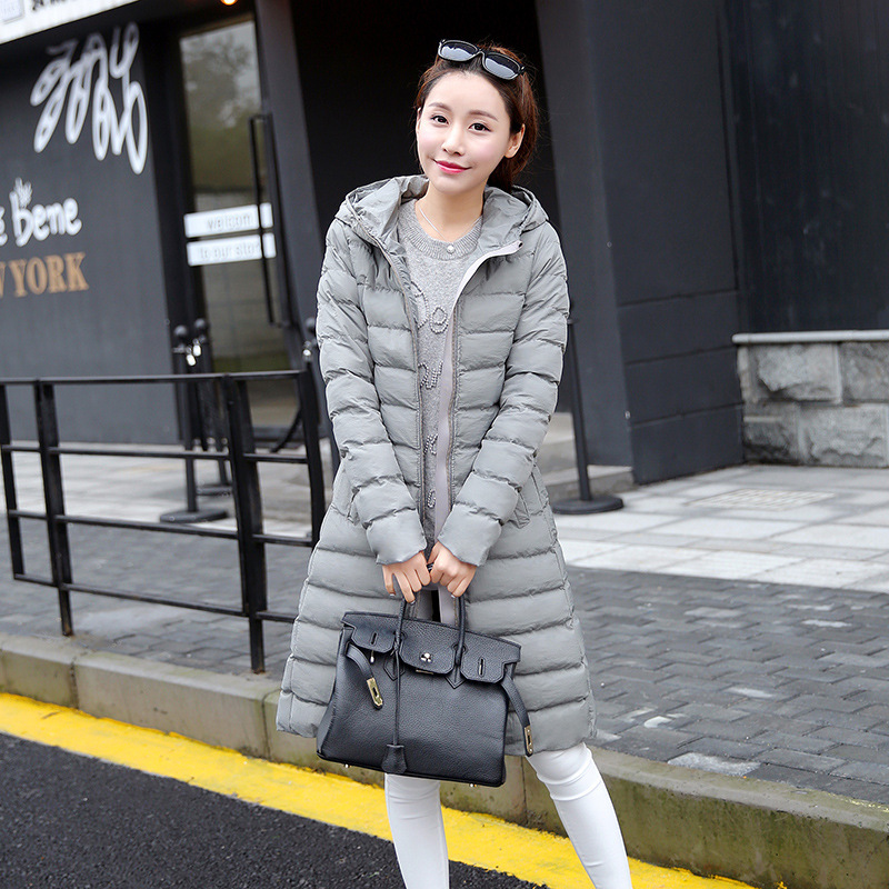 New 2016 Fashion Women Winter Jackets Long Slim Cotton Coat With Hooded Female Jacket Womens Outwear Parkas for Woman Overcoat куртка утепленная shine shine sh980emwge86