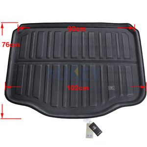 Image 3 - Rear Trunk Cargo Boot Liner Mat Floor Tray Carpet Protector Pad For Chevrolet Holden Trax Tracker 2013 2014 2015 2016 2019