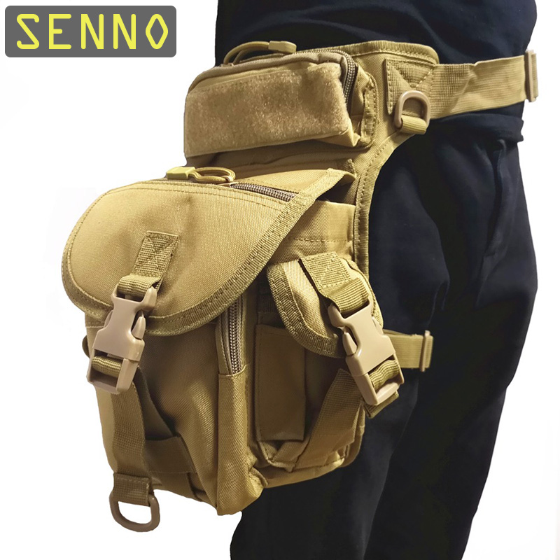 Military Tactical Drop Leg Bag Tool Fanny Thigh Pack Hunting Bag Waist Pack Motorcycle Riding Men 1000D First Aid Kits