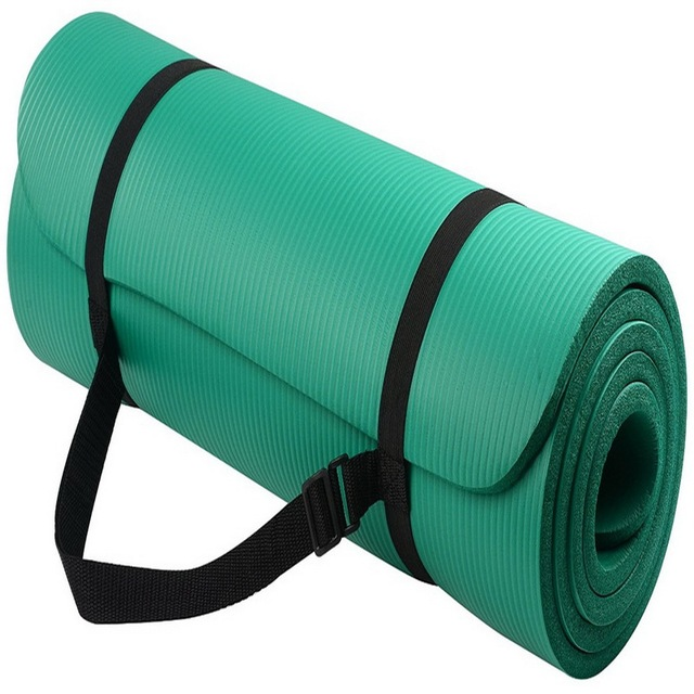 Sports Yoga Mat Multifunctional Yoga Mat Sling Strap Elastic NBR Non-slip Fitness Gym Belt For Sports Exercise 6 Colors