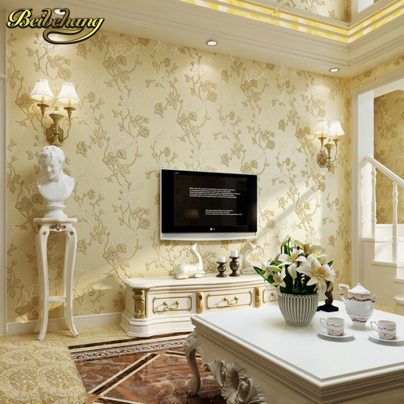 beibehang Simple garden vine papel de parede 3d Floral Damask Wallpaper wall papers home decor Vintage wallpaper for walls 3 d vintage wall paper waterproof wall papers home decor 3d imitation rock stone vinyl wallpaper for walls papel de parede 3d