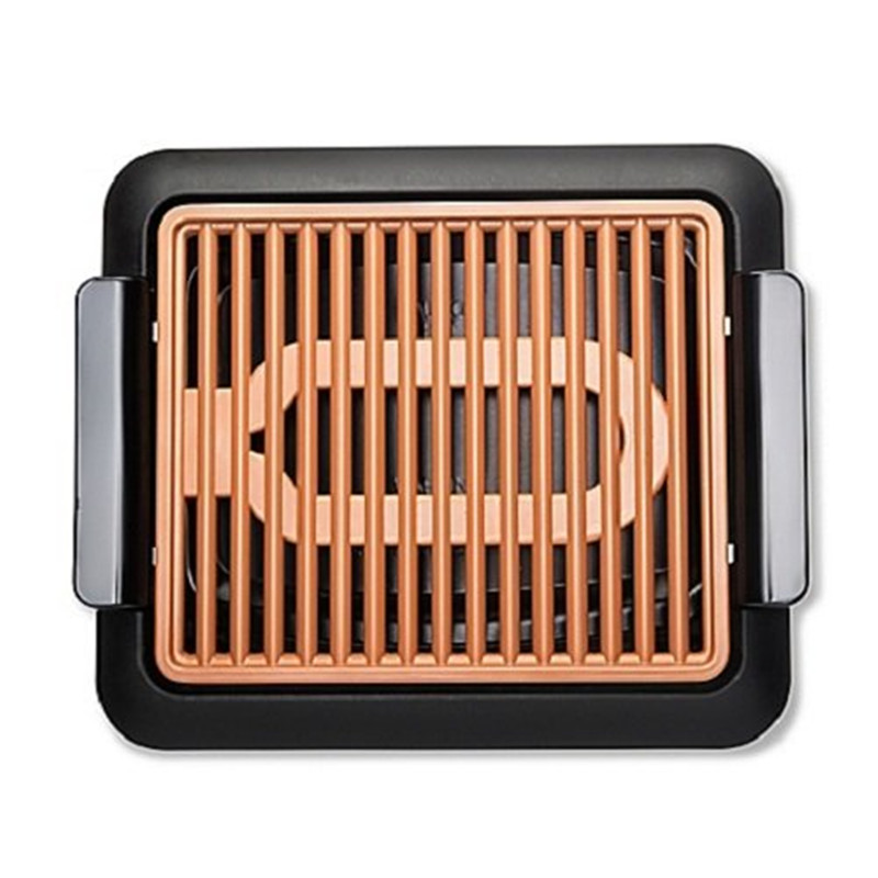 UKLISS Smokeless Electric Grill and Griddle, Portable and Nonstick As Seen On TV Barbecue Grill Electric Baking овощерезка as seen on tv multi vegetable chopper цвет оранжевый