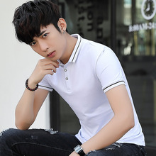 2019 High Quality cotton minimalist slim men polo shirt short sleeve summer clothes solid fashion new vintage brand tommis top