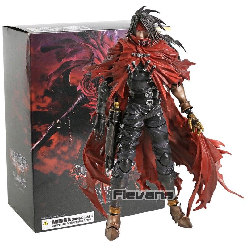 Dirge of Cerberus Jogue Arts Kai Final Fantasy VII Vincent Valentine PVC Action Figure Collectible Modelo Toy
