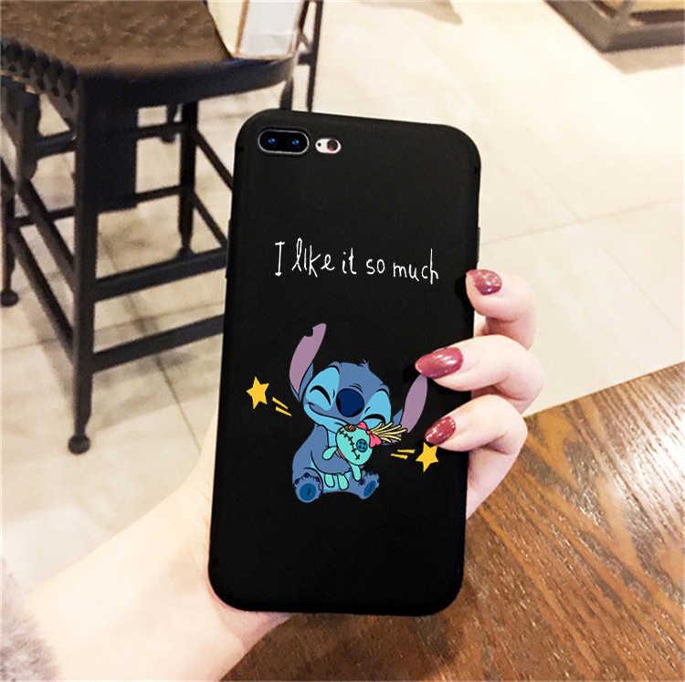 Disneys Stitch Ponsel Case untuk Huawei P30 P30 Lite P20 Pro P10 Mate 20 Pro 10 Lite Honor 9 10 Lite Case silikon Lembut Dumbo Case