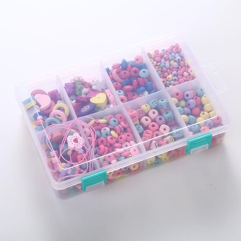 Bricolage sucette chaîne accessoires multi-style en bois attache-sucette bébé sucette tenant une chaîne d'outils d'alimentation jouets molaires
