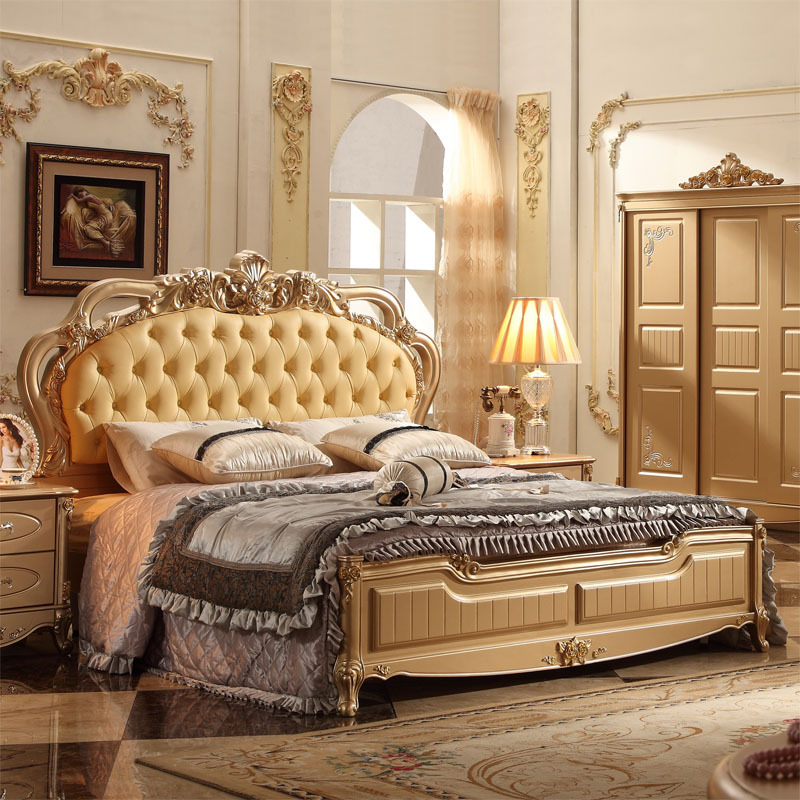Classical Italian Bedroom Set With Good Quality-in Bedroom ...
